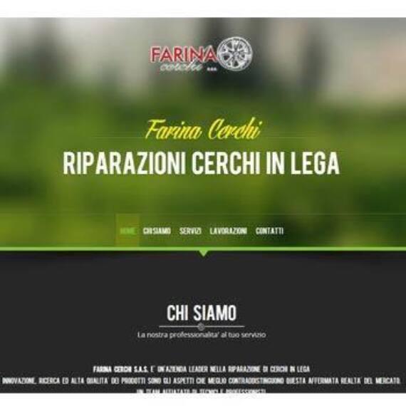 Quatio - Web Agency Torino - Realizzazione sito internet Torino per Farina Cerchi