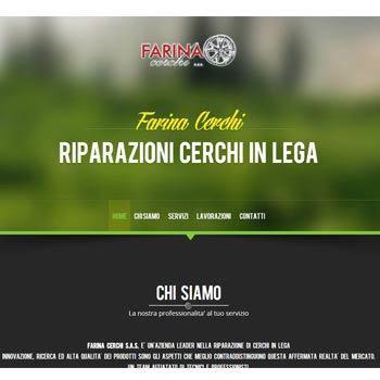 Farina Cerchi - Sito web Istituzionale con Wordpress
