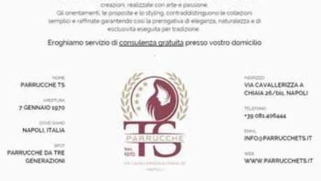 Quatio - siti web torino - Realizzazione sito web per PARRUCCHE TS