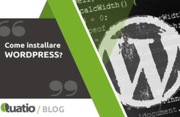 Come Installare Wordpress. quatio web agency di torino