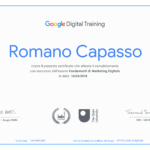 Quatio è certificata Google in Marketing Digitale