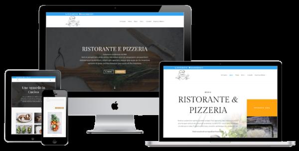 Soluzione web per ristorante e pizzeria torino