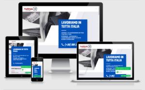 farinacerchi - realizzazione sito web istituzionale