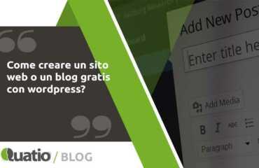 come creare un blog gratis con wordpress